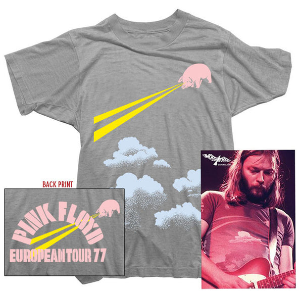 Pink Floyd T-Shirt - Floyd Tour 77 Tee worn by David Gilmour
