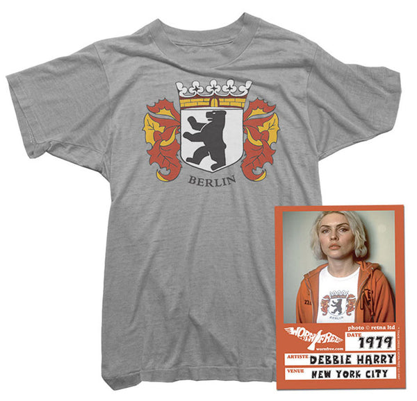 Blondie T-Shirt - Berlin Tee worn by Debbie Harry