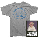 Blondie T-Shirt - Blue Jackets Tee worn by Debbie Harry