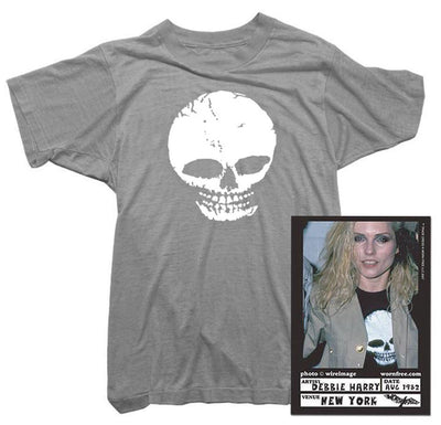 Blondie T-Shirt - Skull Tee worn by Debbie Harry