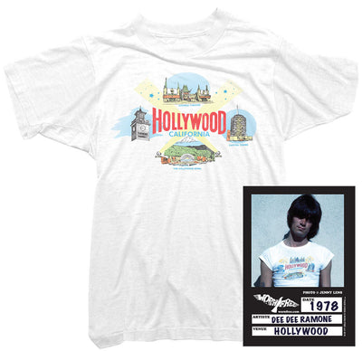 Dee Dee Ramone T-Shirt - Hollywood Tee worn by Dee Dee Ramone