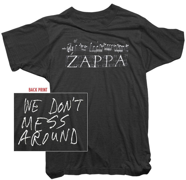 Frank Zappa - We Don't Mess Around Tee