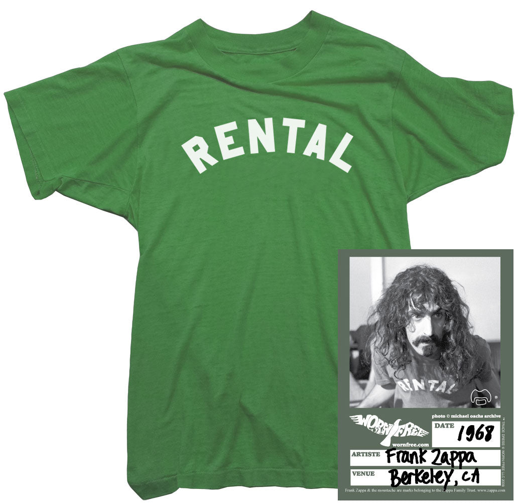 Frank Zappa T-Shirts - Rental Tee worn by Frank Zappa