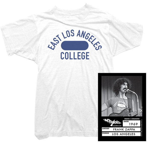 Frank Zappa - East Los Angeles College Tee