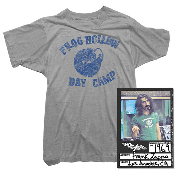 Frank Zappa T-Shirt - Frog Hollow Tee worn by Frank Zappa
