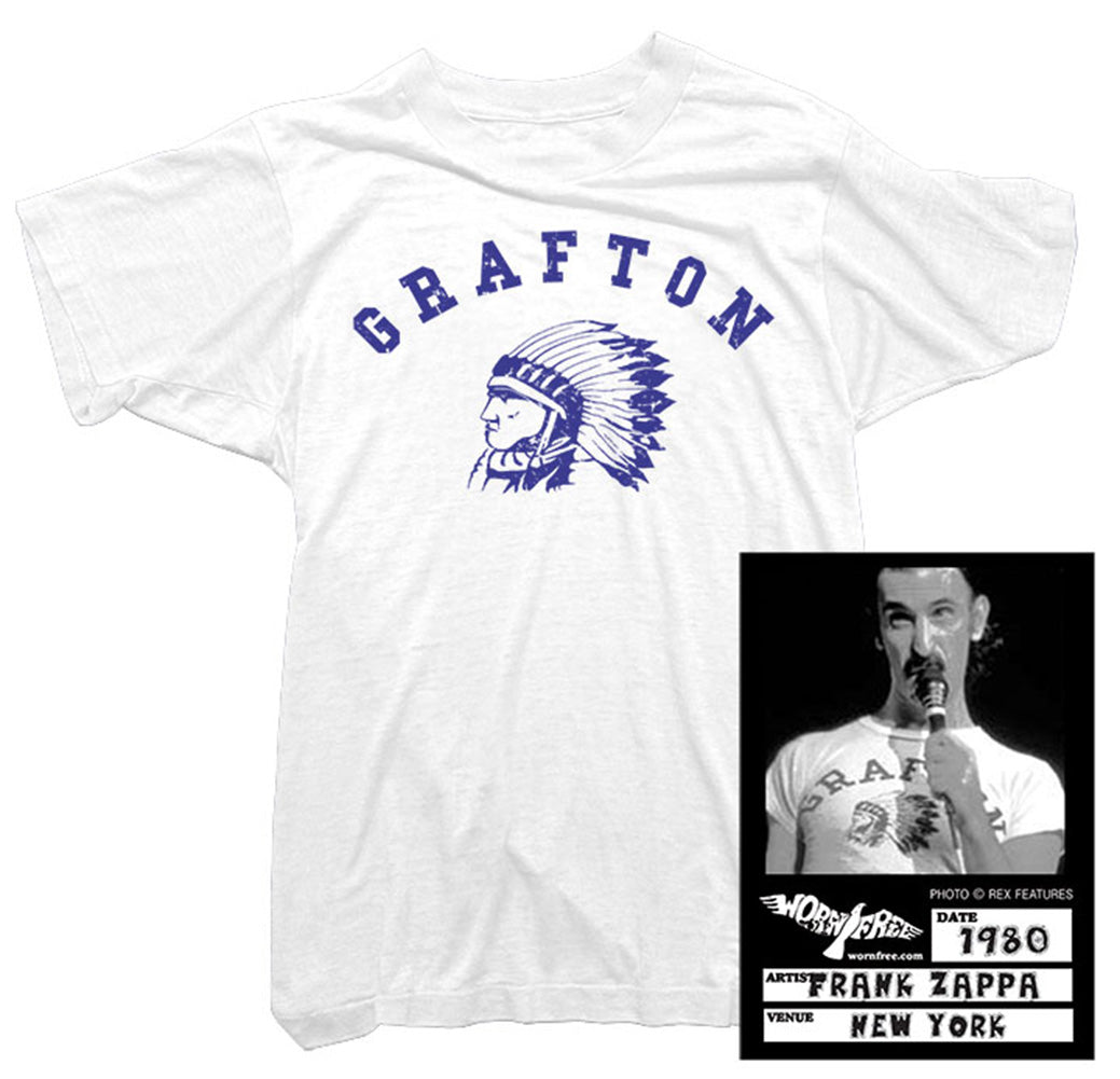 Frank Zappa T-Shirt - Grafton Tee worn by Frank Zappa
