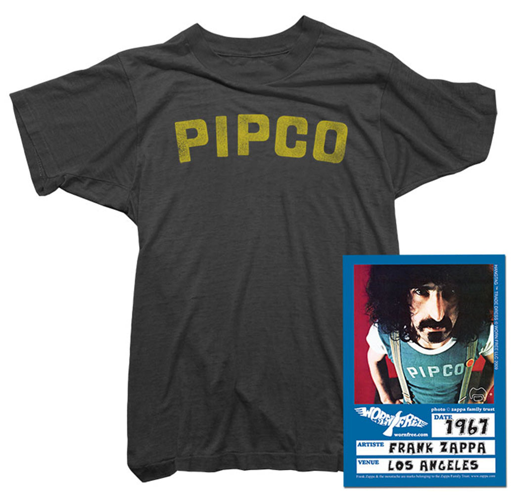 Pipco Tee Worn By Zappa.
