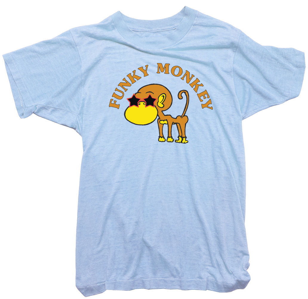 Monkey T-Shirt - Wonga World funky monkey Tee