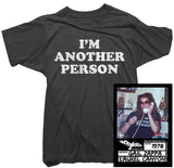 Gail Zappa T-Shirt - I'm Another Person Tee worn by Gail Zappa
