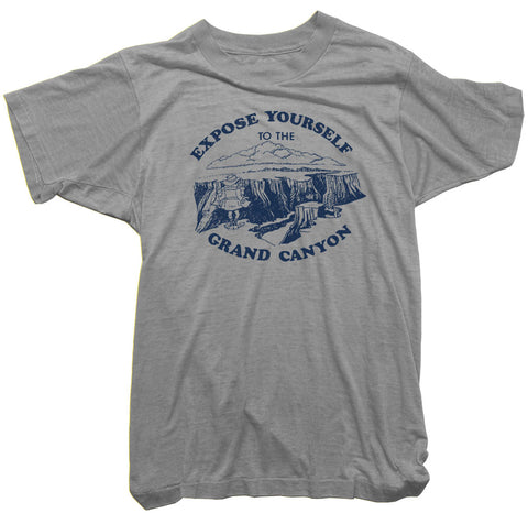 Worn Free T-Shirt - Expose yourself to the Grand Canyon Tee