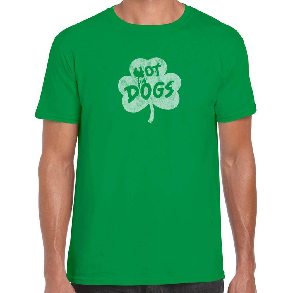 Hot Dog Shamrock T-Shirt