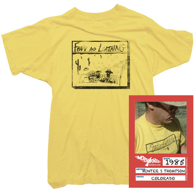 Hunter S Thompson T-Shirt - Fear and Loathing T-Shirt