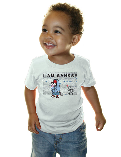 I am Banksy T-Shirt - Wonga World Banksy Tee