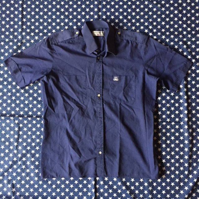 John Langford Button down shirt sample