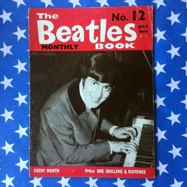 Beatles Monthly Magazines 1960's edition 12