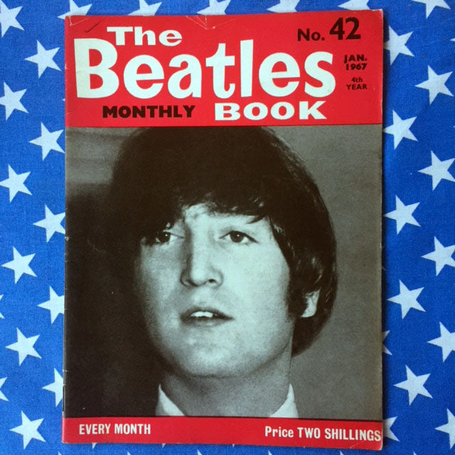 BEATLES MONTHLY MAGAZINES 1960'S EDITIONS From $15 Each (43 to 56)