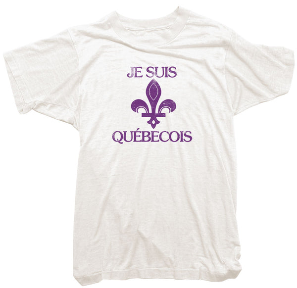 Worn Free T-Shirt - J Suis Quebecois Tee