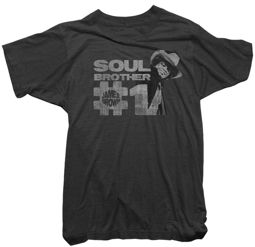 James Brown T-Shirt - Soul Brother No.1 Tee