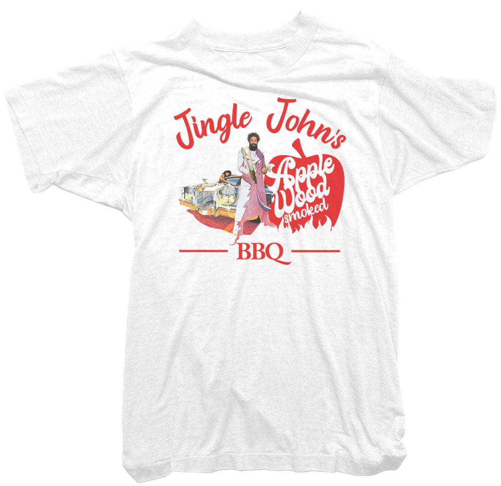 Worn Free T-Shirt - Jingle John's BBQ T-Shirt