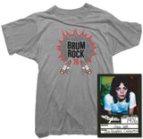 Joan Jett T-Shirt - Brum Rock 76 Tee worn by Joan Jett