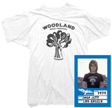 Joan Jett T-Shirt - Woodland Festival Tee worn by Joan Jett