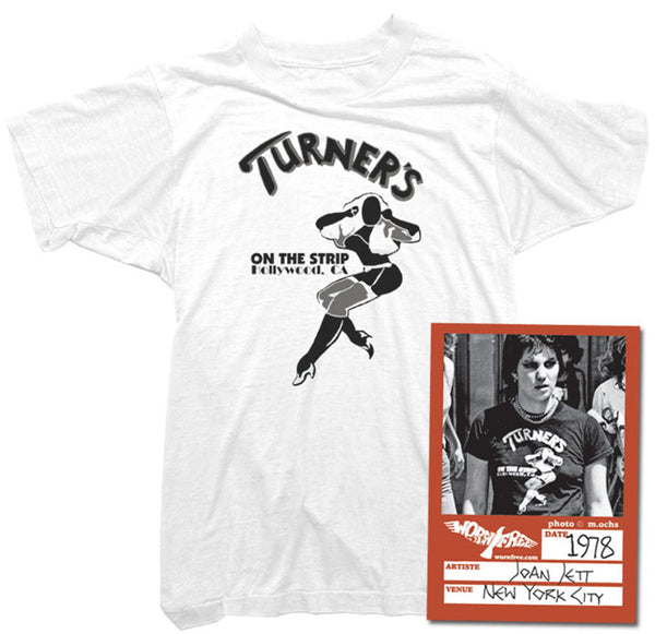 Joan Jett T-Shirt - Turner's Tee worn by Joan Jett