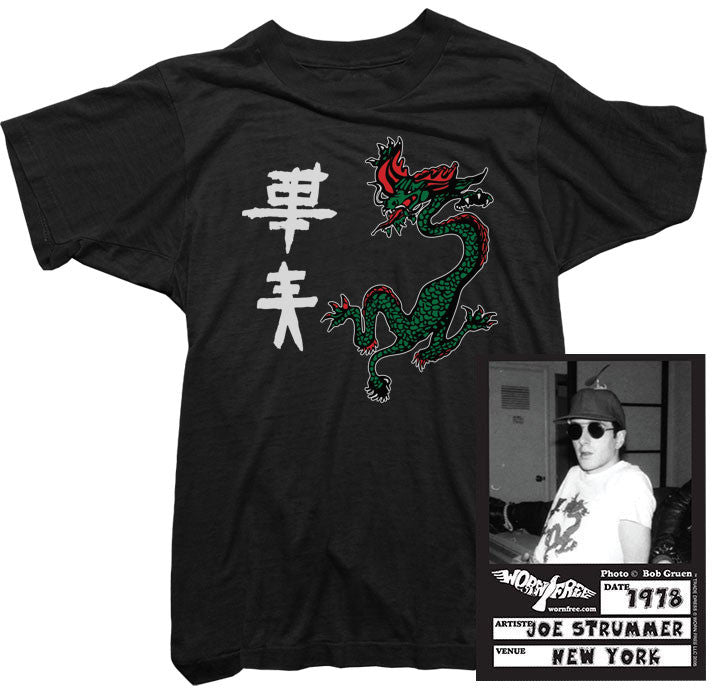 22b21feda99d9 Clash T-Shirt. Out of Control Tee worn by Joe Strummer. Vintage ...