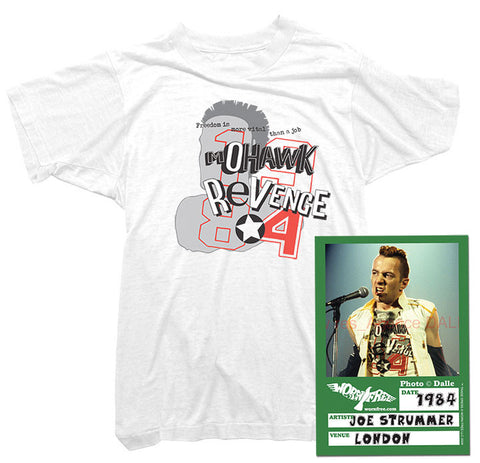 Joe Strummer T-Shirt - Mohawk Tee worn by Joe Strummer