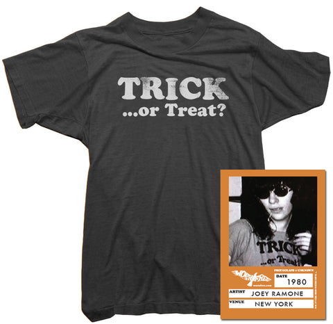 Joey Ramone T-Shirt - Trick or Treat Halloween Tee
