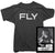 John Lennon T-Shirt - Fly Tee worn by John Lennon