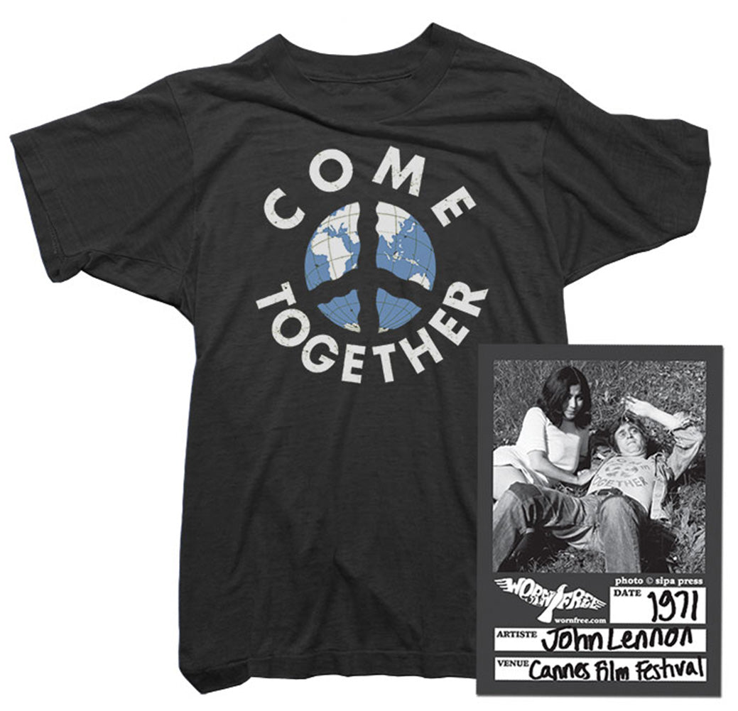 John Lennon T-Shirt - Come Together Tee worn by John Lennon