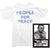 John Lennon T-Shirt - People for Peace Tee worn by John Lennon