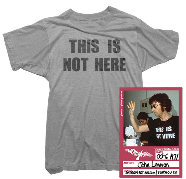 John Lennon - This Is Not Here Tee