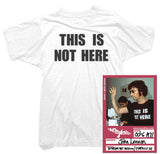 John Lennon T-Shirt - This Is Not Here Tee worn by John Lennon