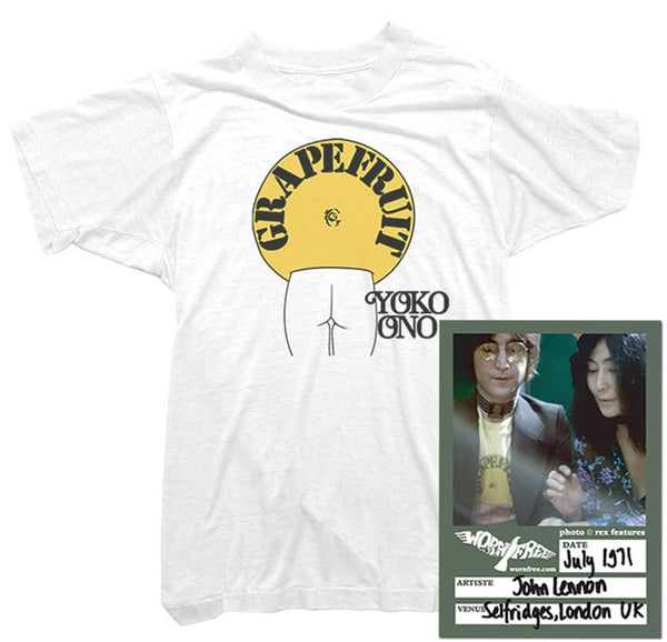 John Lennon T-Shirt - Grapefruit Tee worn by John Lennon