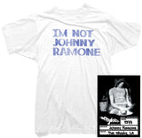 Johnny Ramone T-shirt - I'm Not Johnny Ramone Tee worn by Johnny Ramone