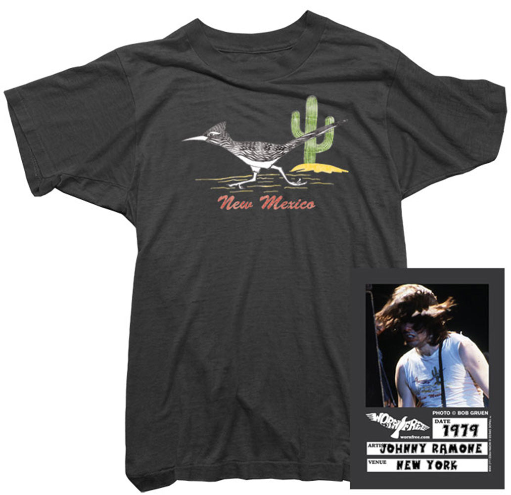 Johnny Ramone T-shirt  - New Mexico Tee worn by Johnny Ramone