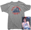 Johnny Ramone T-shirt - Uncle Floyd Tee worn by Johnny Ramone