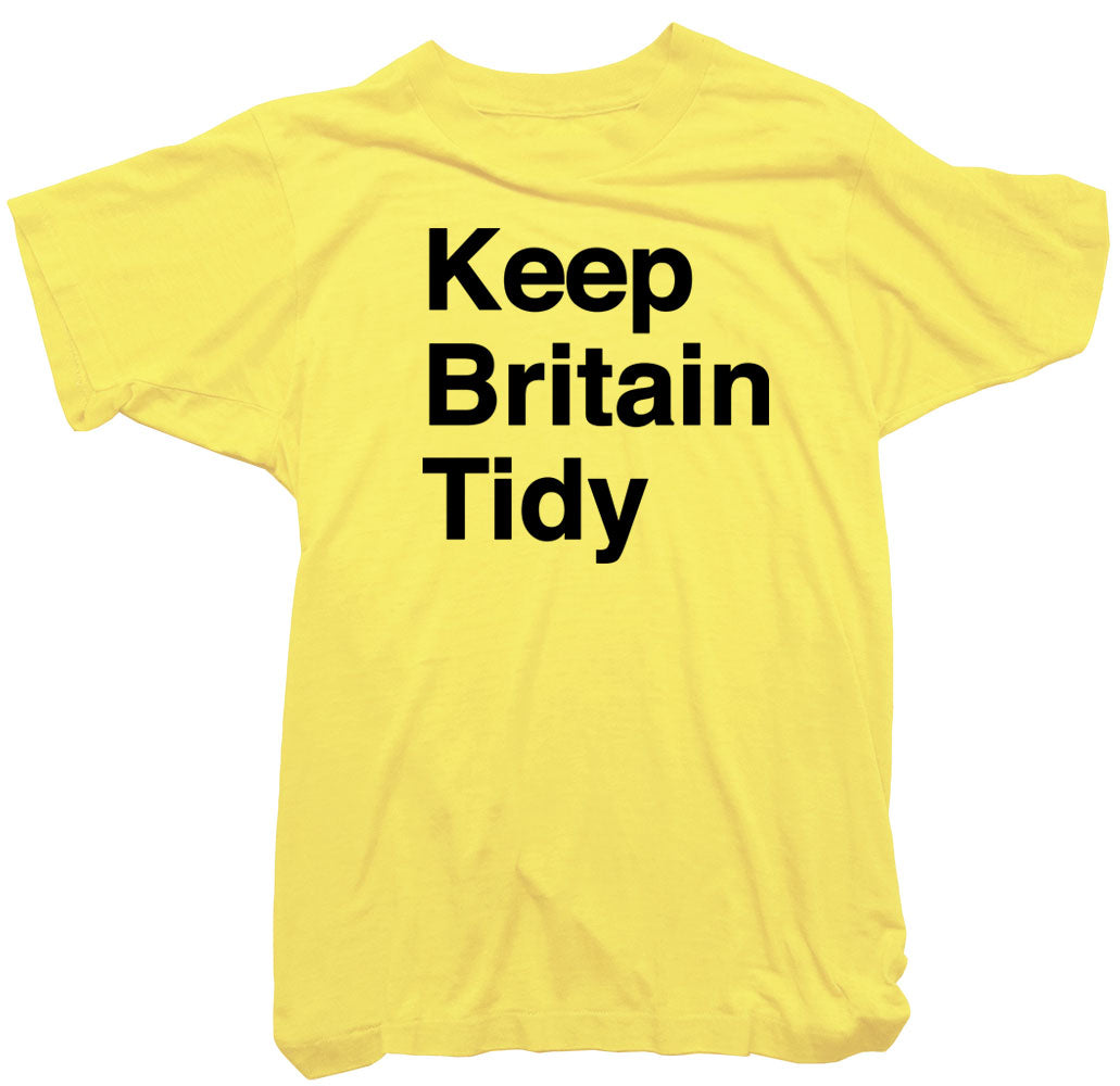 Keep Britain Tidy Lower Case T-Shirt