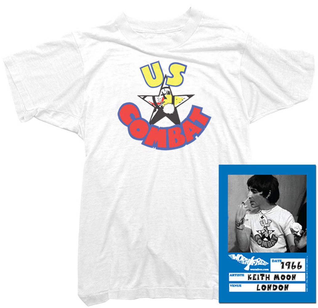 8949fe48 Keith Moon T-shirts. Tees worn by Who legend Keith Moon - Worn Free