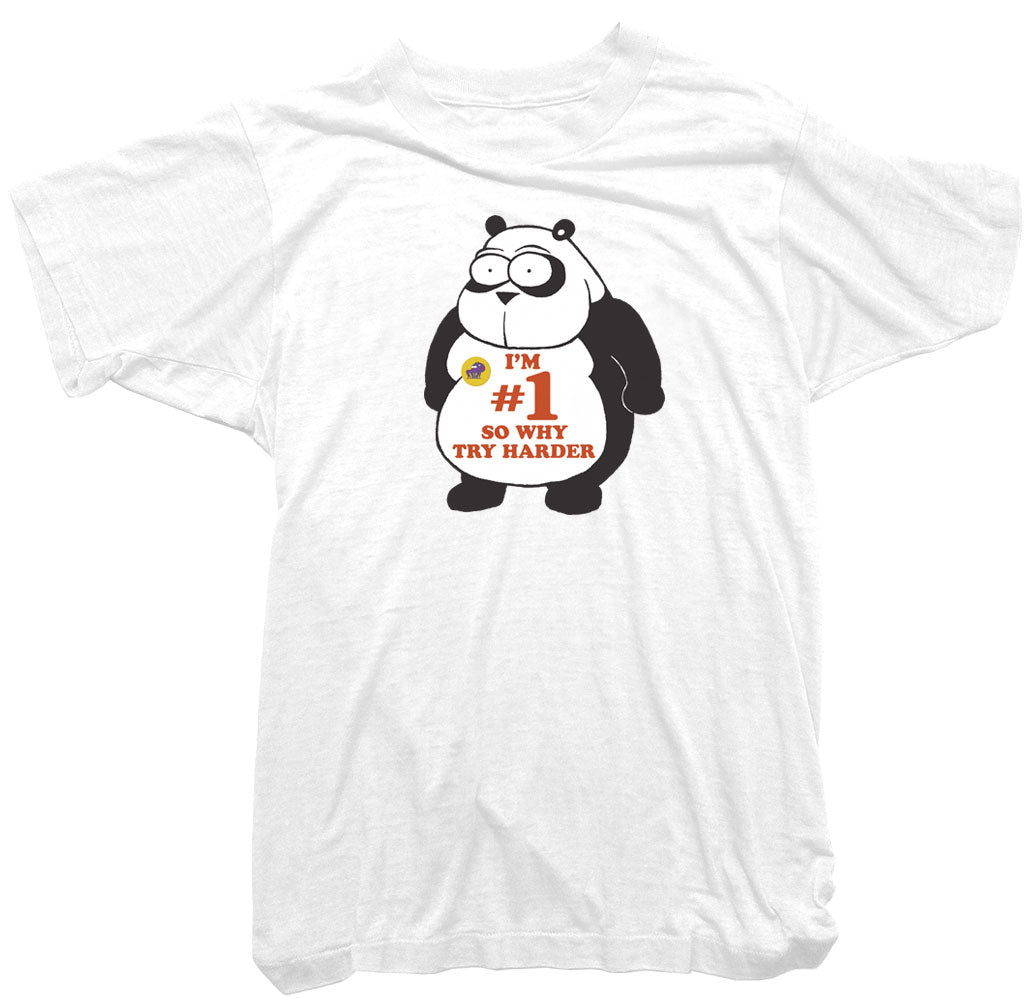 924015eee Panda T-Shirt - Wonga World Number 1 Tee