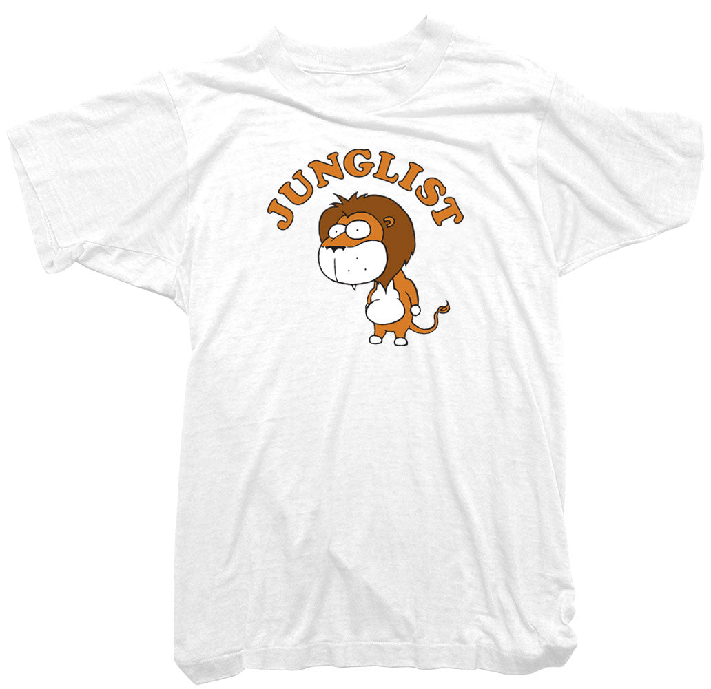 Junglist T-Shirt - Wonga World Lion king of the Junglist Tee