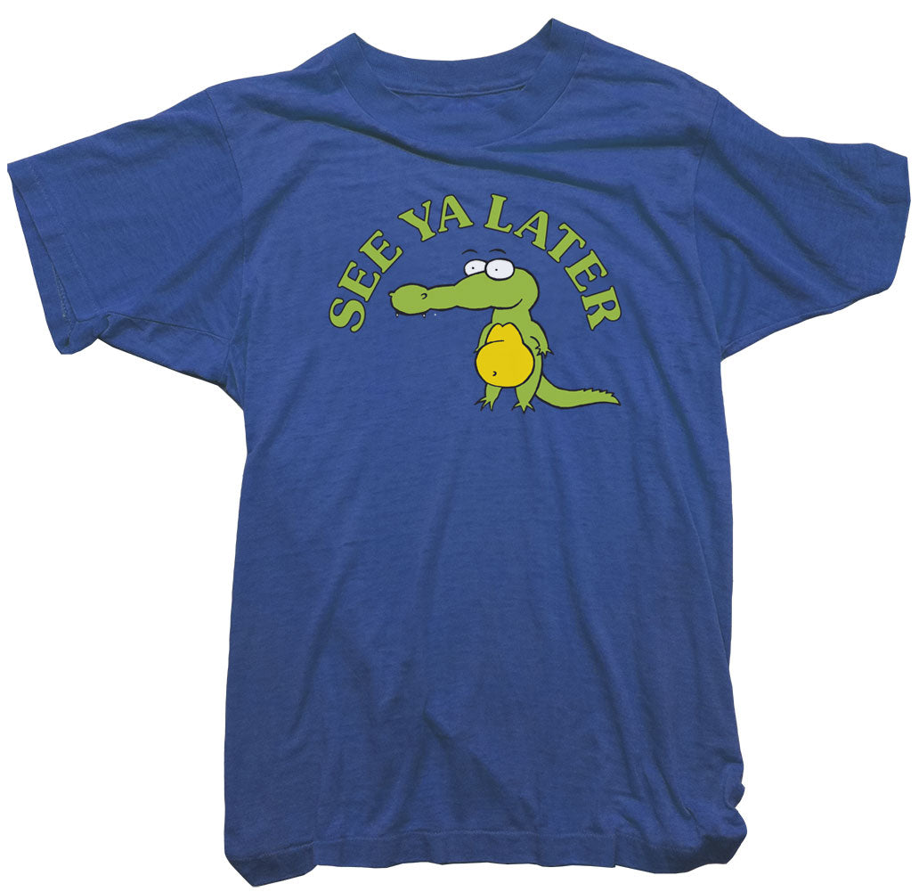 Alligator T-Shirt - Wonga World See ya later Tee
