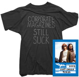 Kurt Cobain - Corporate Magazine Tee