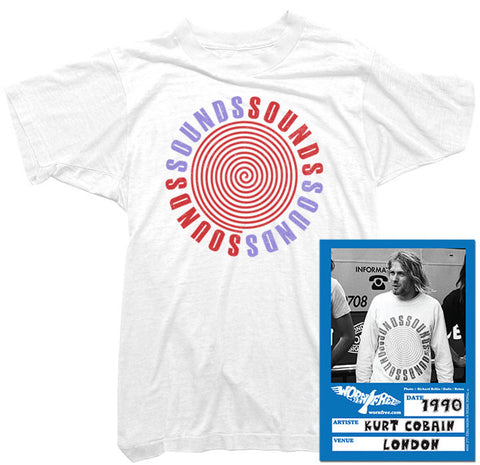 Kurt Cobain - Sounds Tee