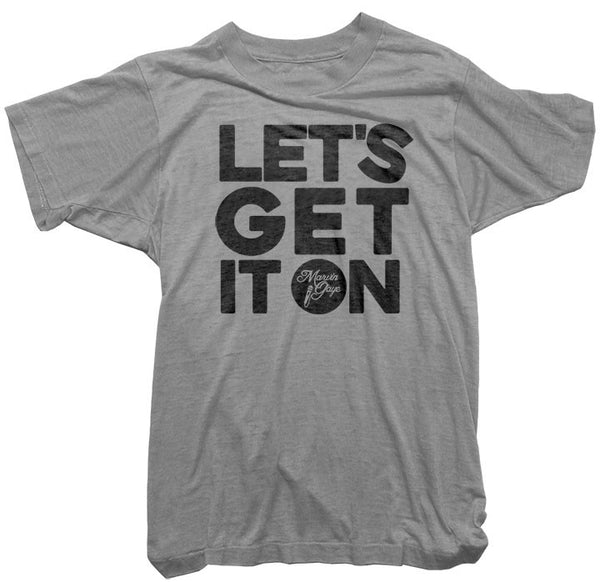 Marvin Gaye T-Shirt - Let's Get It On Tee