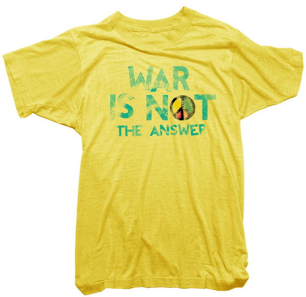Marvin Gaye T-Shirt - War is not the answer tee