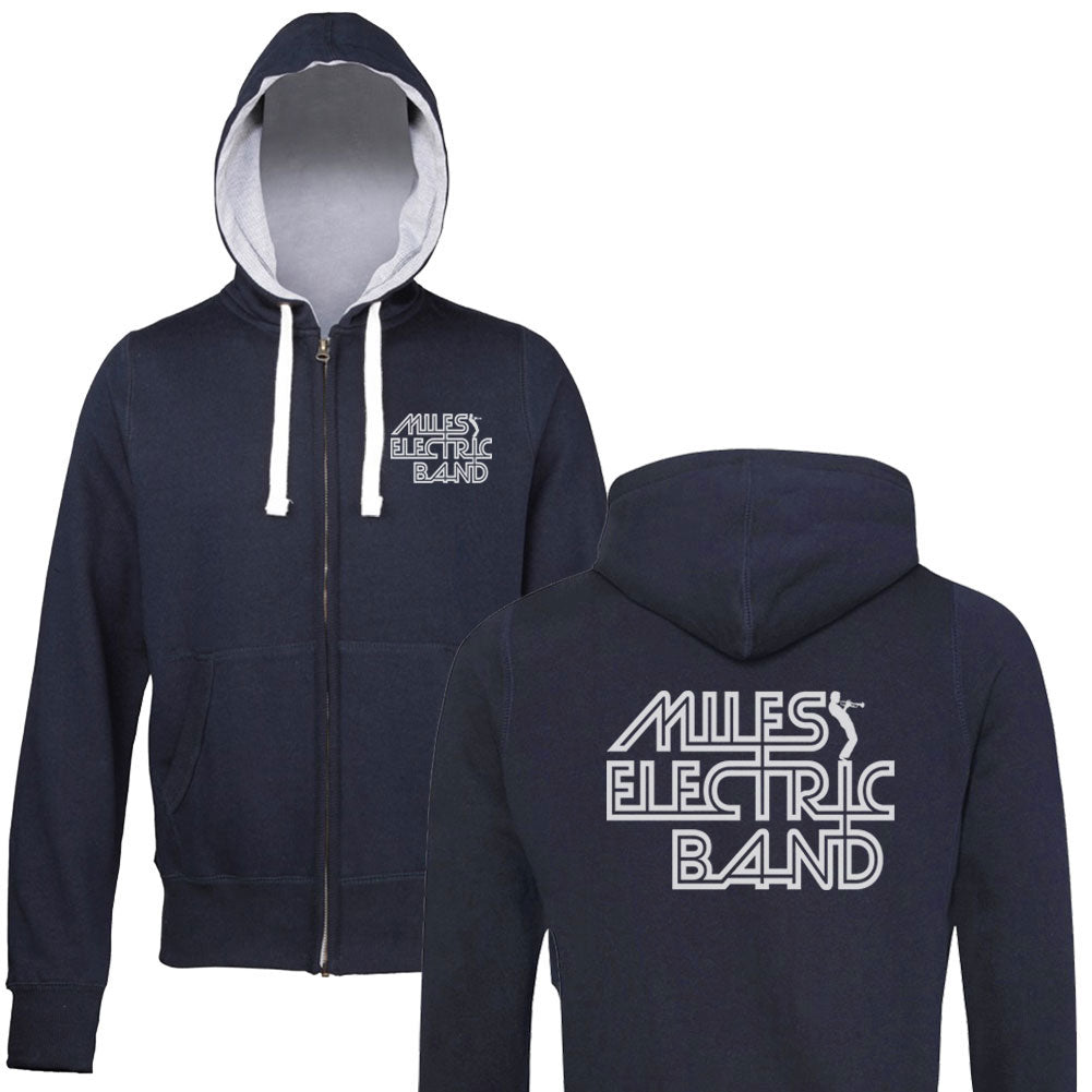 Miles Davis Hoodie - Miles Electric Band Zip