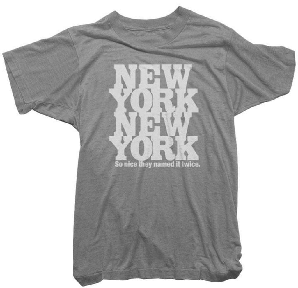 Worn Free T-Shirt - Vintage New York Tee  eac90c5d797