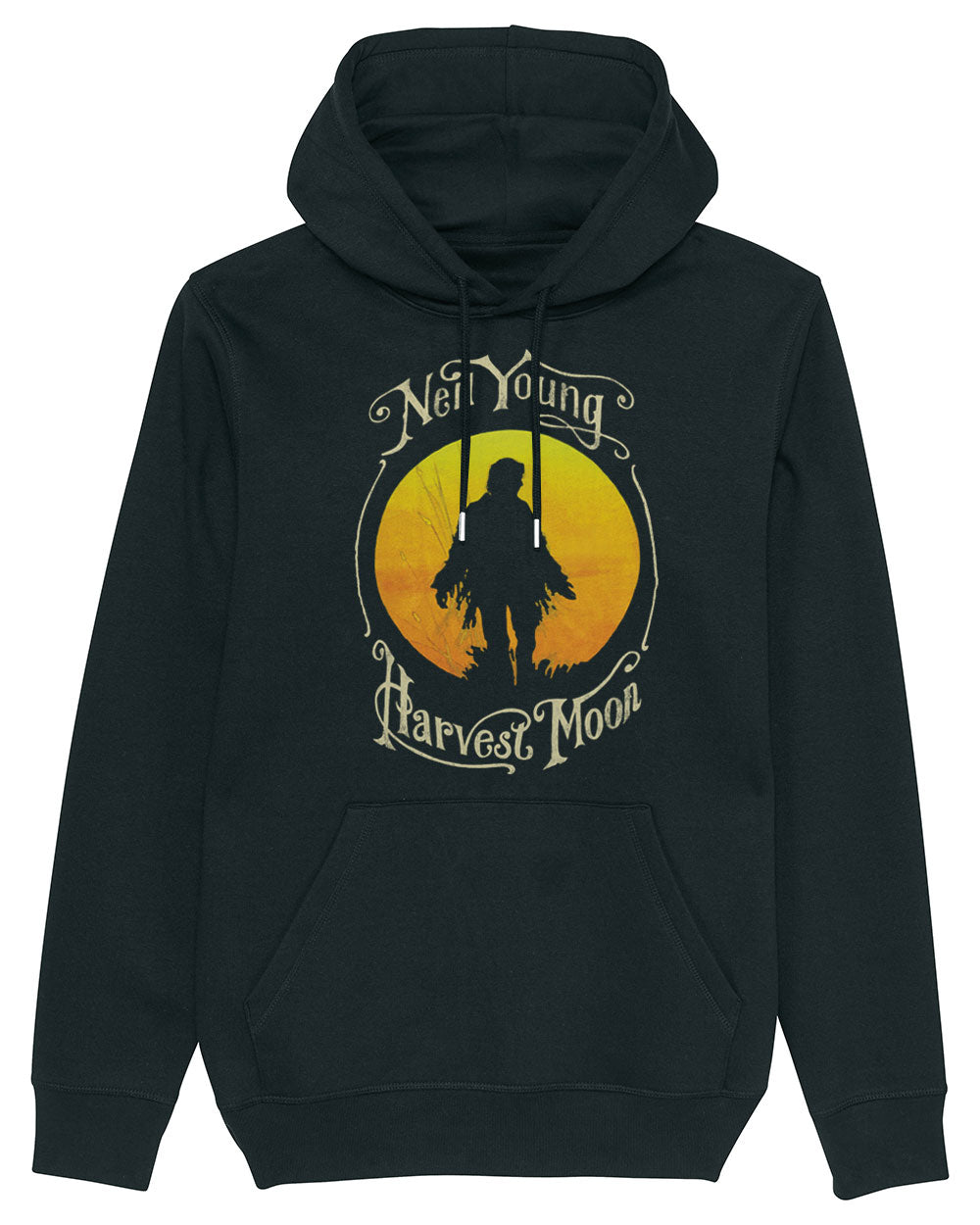 Neil Young Hoodie - Neil Young Harvest Moon Hoodie